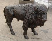 Buffalo Statue - Medium