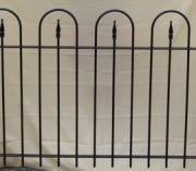 Hoop & Arrow Fence - 3'