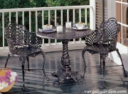Basketweave Bistro Set