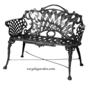 Basketweave Loveseat - Single Arch
