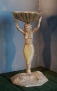 Birdbath - Mermaid w/ Shell Bowl
