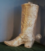 Boot w/ Spur Statue