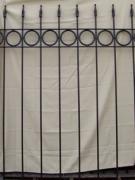 Circle & Arrow Fence - 5'