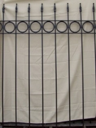 Circle & Arrow Fence - 6'