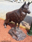 Dog Statue - German Sheppard