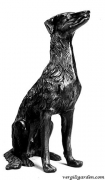 Dog Statue - Hound Dog