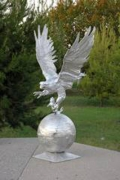 Eagle on Ball