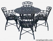 Heart Patio Set