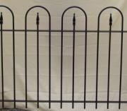 Hoop & Arrow Fence - 4'