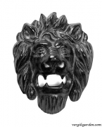 Lion Head Wall Plaque