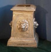 Lion Statue Base