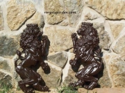Lion Statue - Dancing Pair
