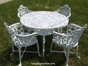 Rose & Lyre Patio Set